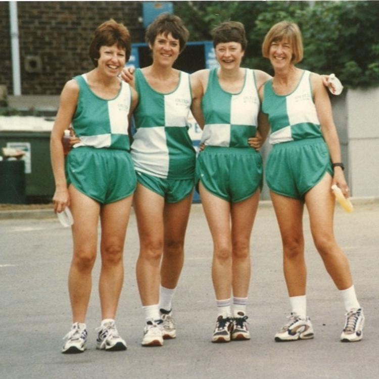 Oxted Runners' Ladies 1996